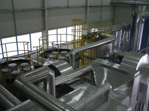 Systém filtrov a katalyzátorov